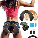 Electroestimulador Muscular Gluteos,EMS Gluteos Estimulador de Glúteos Herramientas Nalgas HipTrainer para la Cadera,Estimulador Muscular Ejercitar Gluteos, Hombre y Mujer,Pantalla LED