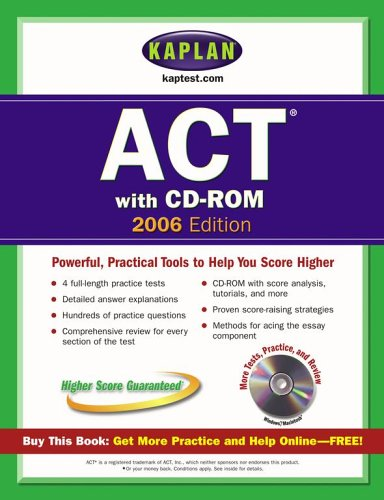 Kaplan Act 2006: Test Prep and Admissions PDF Books