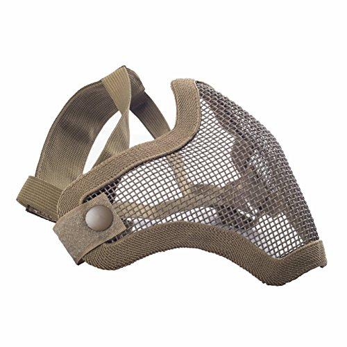 Militar-TLD Mascarilla protectora airsoft cinta elástica