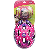 Minnie Bow-Tique K863506 - Casco, coderas y rodilleras infantiles, diseño de Minnie
