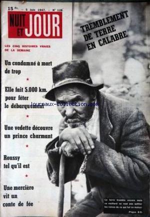 NUIT ET JOUR [No 128] du 05/06/1947 - UN CONDAMNE