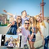 Mpow iSnap X U-Form Selfie Stange Erweiterbar Selfie-Stick mit integrierter Bluetooth Fernauslöser für iPhone 6 6S 6 Plus 6S Plus 5S 5 5C 4S 4, HTC M9 M8, Sony Z5 Z4 Z3 Compact, MP3 Players usw. – Schwarz - 7