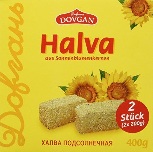 """Dovgan Zubereitung aus Sonnenblumenkernen \""""Halwa\"""", 8er Pack (8 x 400 g)"""