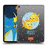 Head Case Designs Offizielle Emoji Fische Sternzeichen Ruckseite Hülle für iPad Pro 11 (2018)