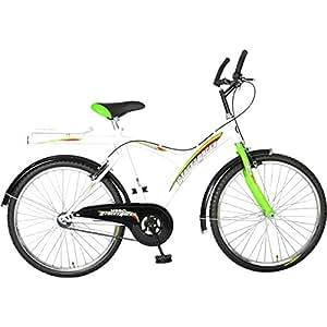 Hero Street Racer 26T Single Speed Mountain Bike  20-inches (White & Green)