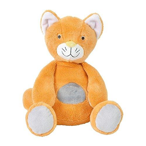 Happy Horse-Plüschtiere und Kuscheltiere-Plüsch Katze Cally-Farben: orange grau taupe-Kuscheltier 24cm-Art: Baby Mädchen oder Jungen-hh131230