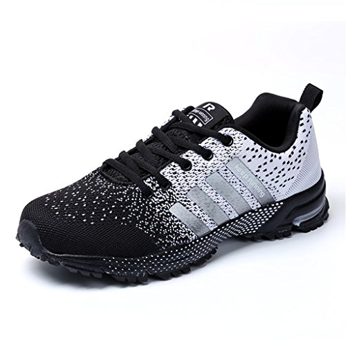 Running Trainers SIKAINI Unisex Casual Running Sport Shoes Lightweight Fashion Sneakers Men...