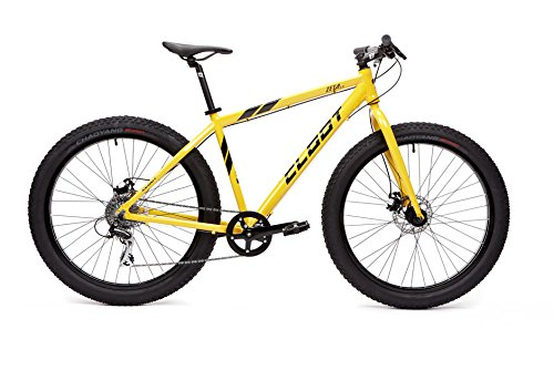 CLOOT Fat Bike-Bicicleta Fat-Bicicleta Rueda Gorda en 27.5' Zeta 3.5 con Cuadro Aluminio 6061 y Cambio Shimano Acera de 8v (L)