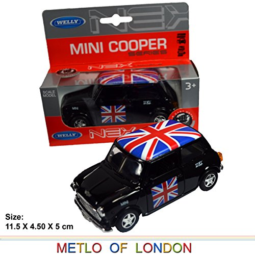 mini-cooper-model-black-with-union-jack-top-made-of-die-cast-metal-and-plastic-parts-pull-back-go-ac
