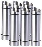 Rosenstein & Söhne Verdunster: 6er-Set Edelstahl-Wasserverdunster für Heizkörper (Luftbefeuchter für Heizung)