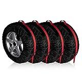 4 Pieces Car Tires Storage Bag Portable Automobile - Best Reviews Guide