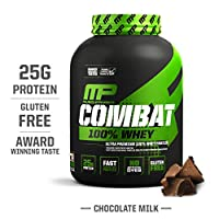 Musclepharm Combat Whey Protein Powder Chocolate 5lbs