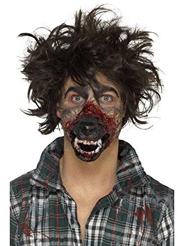 Werwolf Mund Maske mit Klebemittel Hallowen Kostüm (Kostüme Hallowen)