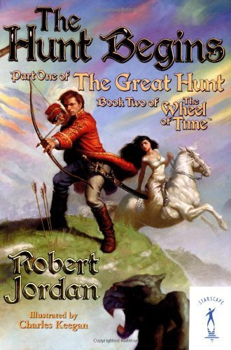 The Hunt Begins (The Great Hunt, Book 1) by Jordan, Robert (2004) Mass Market Paperback
