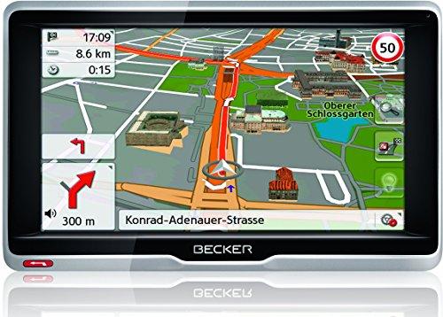 Becker active.6 LMU plus Navigationsgerät (15,8 cm (6,2 Zoll) Bildschirm, 47 Länder, lebenslange Kartenupdates, TMC, MagClick Aktivhalter, mit Bluetooth)