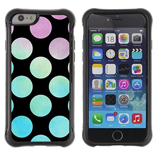 Graphic4You BLACK STRIPES Muster Shockproof Anti-Rutsch Weichen Hülle Case Tasche Schutzhülle für Apple iPhone 6 Plus / 6S Plus Design #18