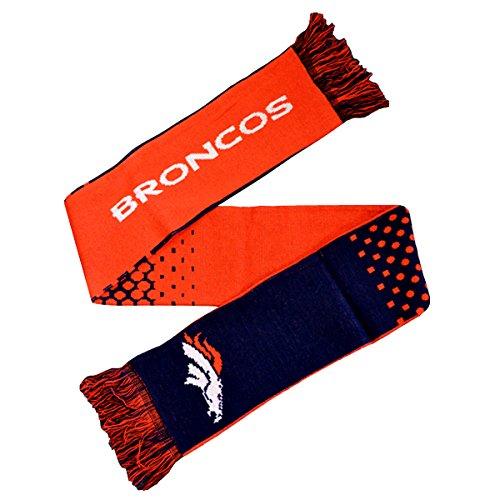 Offizieller Fan-Schal, Design: NFL American Football, 10Gauge, Strick, mit Team-Logo (verschiedene Mannschaften zur Auswahl), Denver Broncos, 148 x 20cm (Approx)