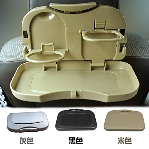 Buyerzone Car Meal Plate Drink Cup Holder ... & Buyerzone Car Meal Plate Drink Cup Holder Tray Random Color | BEST ...