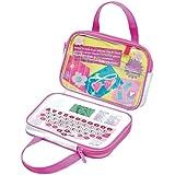 Barbie Spiel- und Lerntasche Lerncomputer für Mädchen mit hüscher Tasche, 20 Spiele, ab 5 Jahre, pink