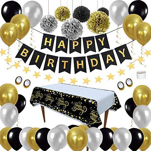 Cumpleaños Decoraciones Pack Artículos Fiestas -