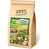Original-Leckerlies: 100% Gemüse-Flocken, 1 kg getreidefreie Gemüseflocken, Hundeflocken, Hundefutter- Naturprodukt für Hunde, barfen