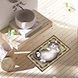 Colorful(TM) Bodenaufkleber 3D Badezimmer Anti Slip Wasserdicht Sicherheitsboden Aufkleber (A)
