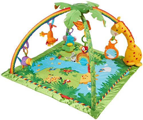 Avis tapis d 39 veil fisher price de la jungle - Tapis animaux de la jungle ...