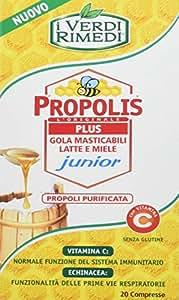 Compresse Gola Masticabili Latte e Miele Junior