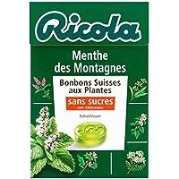 Ricola Menthe des montagnes sans sucres boîte de 50g - Livraison Gratuite En France - Prix Par Unité
