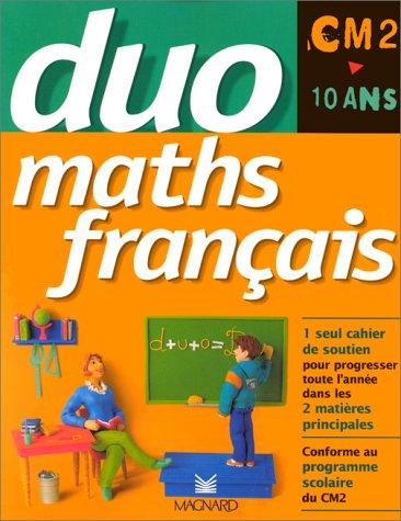 Cahier duo maths/français CM2