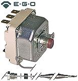 EGO Sicherheitsthermostat 55.31542.240 passend für EKU max. Temperatur 230°C 3-polig Fühler ø 6mm x 167mm 20A
