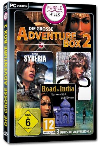 Die große Adventure Box 2 (Dvd-spieler, Indien)
