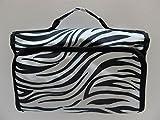 Hanging Cosmetic Bag Organizer (Zebra)