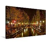 Premium Textil-Leinwand 90 cm x 60 cm quer, Amsterdam - Rotlichtviertel   Wandbild, Bild auf Keilrahmen, Fertigbild auf echter Leinwand, Leinwanddruck (CALVENDO Orte)