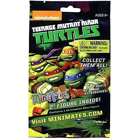 Teenage Mutant Ninja Turtles Minimates 2 Inch Mini Figura (1 Random)