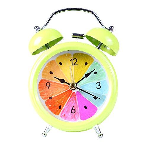 che Metall Shell Zwei-Wege-Glocke wecker Dekoration hausgarten küche zubehör Uhren wecker ()
