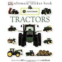 Ultimate Sticker Book: John Deere: Tractors (Ultimate Sticker Books)