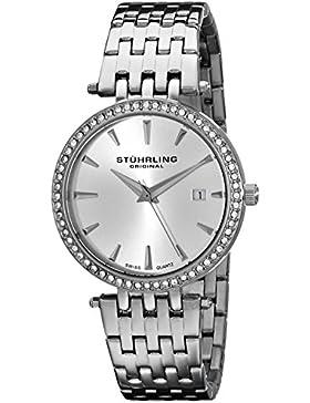 Stuhrling Original Damen-Armbanduhr Analog Quarz Edelstahl 579.01
