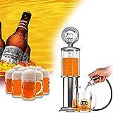 Distributore di benzina di whisky, distributore di birra, distributore di bevande, strumenti per feste, adatto per vodka, whisky, vino, varie bevande liquide e alcool