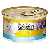 Gourmet Gold Senior Pate Recipe with Ocean Fish 85g