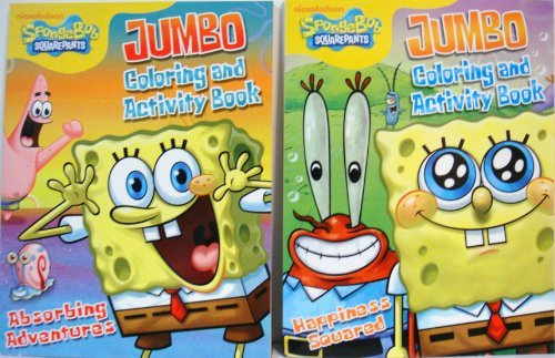 spongebob-2-coloring-activity-books-by-viacom-international