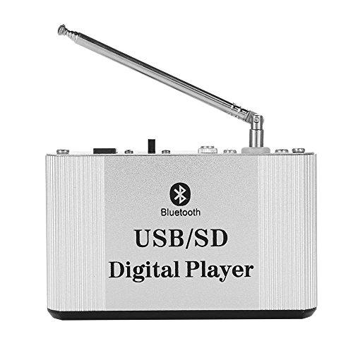 VBESTLIFE Bluetooth HiFi Verstärker, Bluetooth Leistungsverstärker Bass lauter Stereo FM Radio Verstärker USB/TF Karte/digitaler Bluetooth Verstärker.