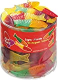 Red Band Fruity Fish Sweet 1200g Full Tub - Dutch Candy & Sweets