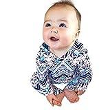 Quaan Kleinkind Kleinkind Baby Mädchen Jungen Drucken Mit Kapuze Spielanzug Overall Outfits Kleidung Warm Kleider niedlich Baumwolle Charakter warm weich gemütlich Outwear Weste Sweatshirt