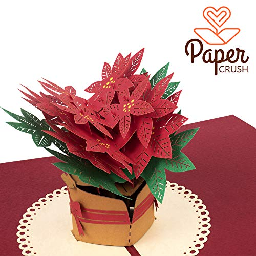 PaperCrush - Tarjeta pop-up diseño navideño Tarjeta
