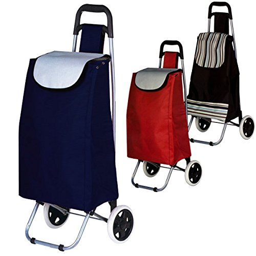 Chariot à provisions - Avec système monte-escalier - Caddie de courses -Trolley