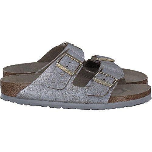 Chaussures à bout ouvert Birkenstock Arizona beiges femme gnvf3QOyy