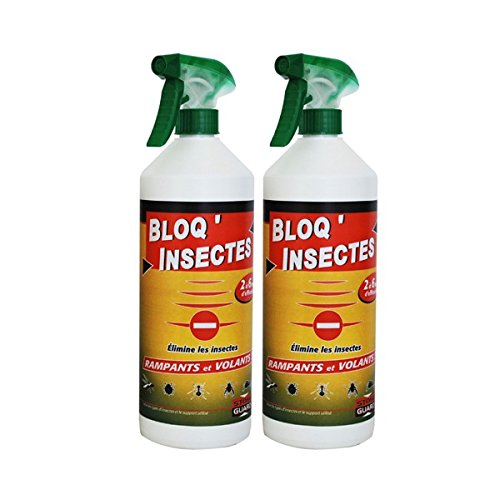 Bloq' insectes lot de 2 x 1L