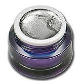 RM Beautynails Premium Metallic UV Farbgel Silber Silver 5ml UV-Gel Profifarbgel kein absenken der Pigmente sehr hohe Deckkraft