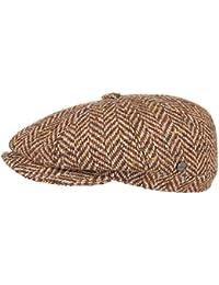 Lierys City Herringbone Flatcap Schirmmütze Schiebermütze Cap Kappe Mütze Wollcap für Herren Wollcap Flatcap Wintercap mit Schirm, mit Futter, mit Schirm, mit Futter Herbst Winter